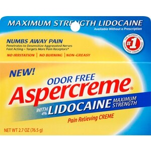Aspercreme with Lidocaine Creme, 2.7 OZ