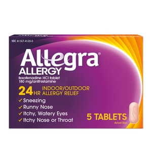 Allegra Adult 24-Hour Tablets