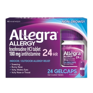 Allegra Allergy 24hr Gelcaps, 24ct