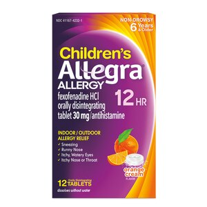 Allegra Children's 12-Hour Tablets