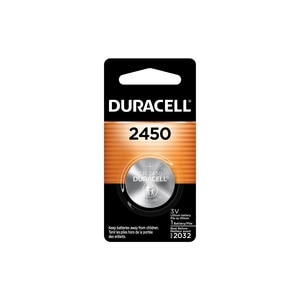 Duracell 2450 3V Lithium Coin Battery, 1/PK