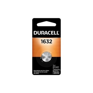 Duracell 1632 3V Lithium Coin Battery, 1 CT