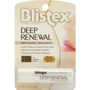 Blistex Deep Renewal Anti-Aging Lip Protectant/Sunscreen SPF 15