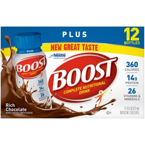 Boost Plus Nutritional Energy Drink Chocolate