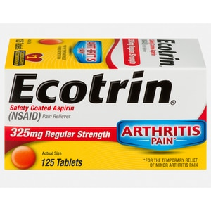 Super Ecotrin Safety Coated Aspirin Tablets Regular Strength 125 Ct Machost Co Dining Chair Design Ideas Machostcouk