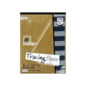 Mead Tracing Paper 40 Sheets 9 x 12 in