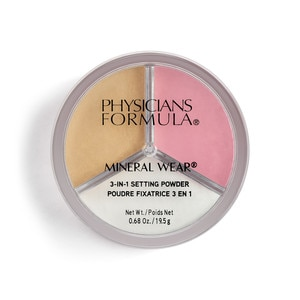 Physicians Formula Mineral Wear 3-in-1 Setting Powder , Set/ Bright/ Bake