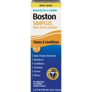 Bausch & Lomb Simplus Multi-Action Solution, 3.5 OZ