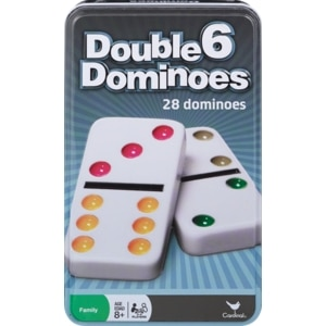 Cardinal Double Six Dominoes