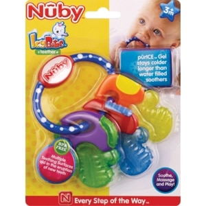 Nuby Luv n' Care IcyBite Teether 3M+