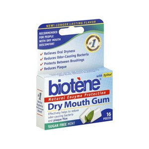 Biotene Dry Mouth Gum Sugar Free Mint