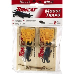 Tomcat Wood Mouse Traps