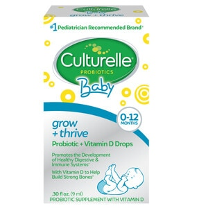 Culturelle Baby Grow + Thrive Probiotics + Vitamin D Drops, .30 OZ