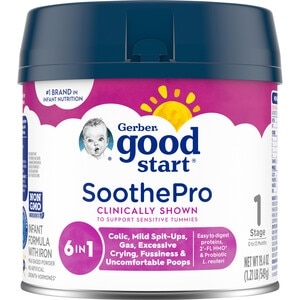 Gerber Good Start Soothe Milk Based Powder Infant Formula with Iron 23.2OZ