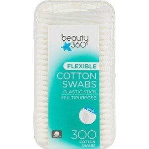 Beauty 360 Cotton Swabs, 300CT