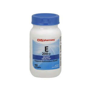 CVS Vitamin E 200 Iu Softgels
