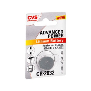 CVS Advanced Power Lithium Battery Cr2032