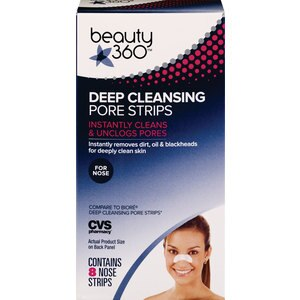 CVS Deep Cleaning Pore Strips Nose