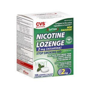 CVS Nicotine Lozenges 2 mg Mint