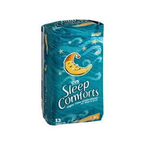 CVS Sleep Comforts Night Time Underpants Large/X-Large 60-125+ Lbs