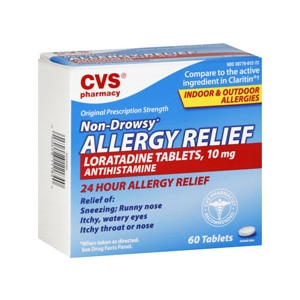 CVS Non-Drowsy Allergy Relief Tablets