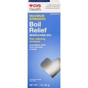 Cvs Health Boil Relief Pain Relieving Ointment