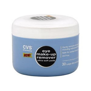 CVS Eye Makeup Remover Ultra-Soft Pads