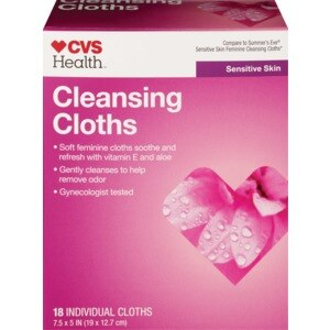 CVS/pharmacy Cleansing Cloths Sensitive Skin