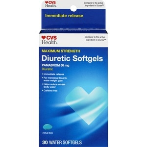 CVS Diuretic Soft Gels Maximum Strength