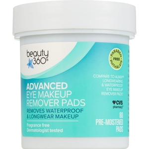 Beauty 360 Advanced Eye Makeup Remover Pads