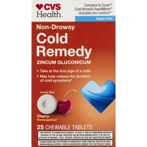 CVS Cold Remedy Fast Melting Quick Dissolving Tablets Cherry