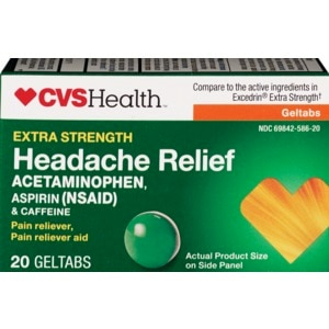 CVS Health Extra Strength Headache Relief Gelcaps