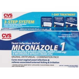 CVS Miconazole Yeast Infection Relief