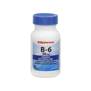 CVS Vitamin B-6 50 Mg Tablets
