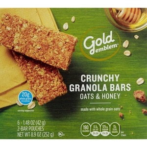 Gold Emblem Oats & Honey Crunchy Granola Bars