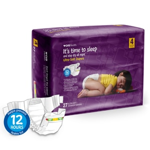 CVS Health Ultra Soft Overnight Diapers