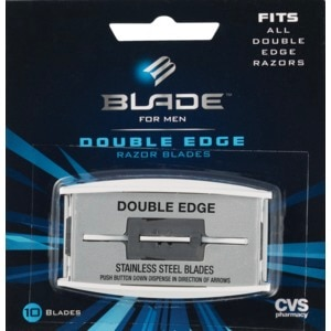 CVS Double Edge Stainless Steel Blades