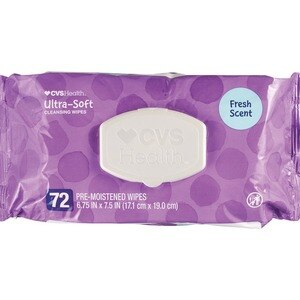 CVS Health Ultra Soft Cleansing Wipes Solo SoftPak