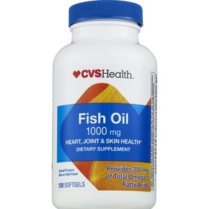 cvs fish oil softgels 1000mg
