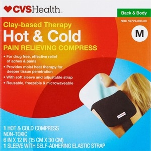 CVS Clay-Based Therapeutic Hot & Cold Pad