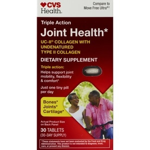 CVS Health Triple Action Joint Health Tablets, 30CT
