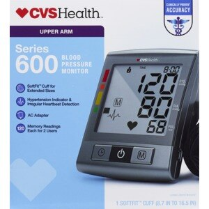 CVSHealth Series 600 Upper Arm Blood Pressure Monitor