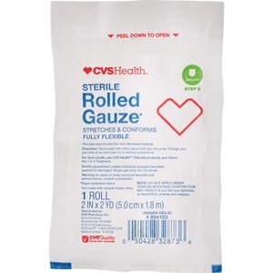 CVS Health Sterile Latex-Free Rolled Gauze 1CT