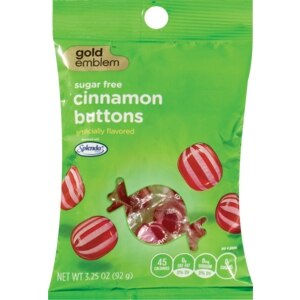 CVS Gold Emblem Cinnamon Buttons Sugarfree