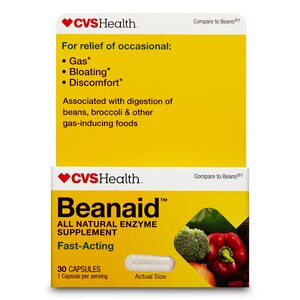 CVS Health Beanaid Fast Acting Capsules, 100CT