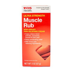 CVS Health Ultra Strength Muscle Rub Cream
