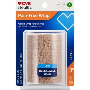 CVS Health Self-Adherent Gentle Wrap 3 Inches