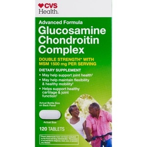 CVS Health Advanced Formula Glucosamine Chondroitin Double Strength Tablets