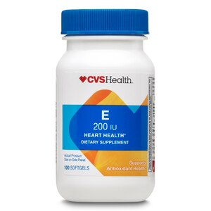 CVS Vitamin E Softgels 200IU, 100CT