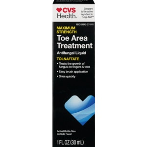CVS Health Maximum Strength Toe and Nail Area Treatment Anti-Fungal ...